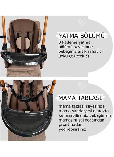 Baby Home Baby Home 850 Cup Mama Sandalyesi Salıncak Bebek Çocuk Salıncağı Antrasit